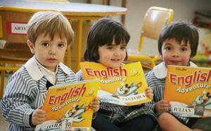 guardería inglés